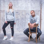 Grijze sweater Broodje Aap x We Love What We Do