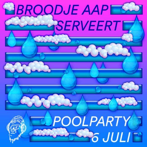Broodje Aap poolparty
